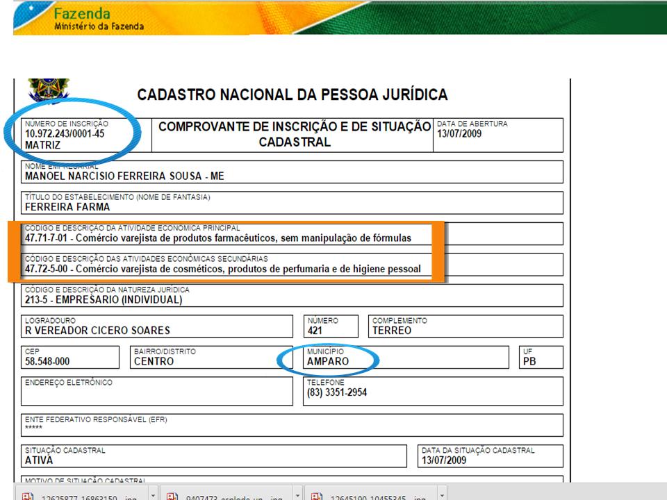 Amaparo-farmacia-CNPJ Escândalo: Prefeito do município de Amparo Compra Pães em Farmácia