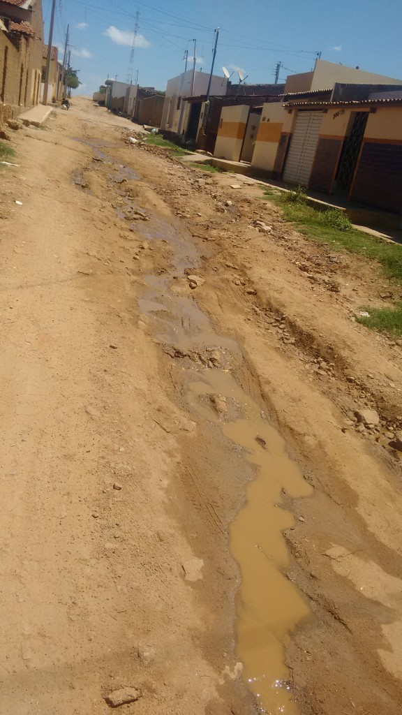 IMG_20160104_1246464891-1-576x1024 Em Monteiro: Esgoto estourado atrapalha rotina de moradores na Rua João José Sobrinho