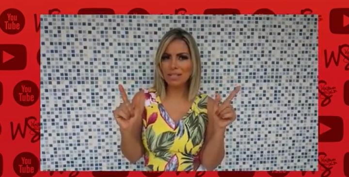 Sem-título-2 Walkyria Santos lança canal no YouTube e prepara novidades