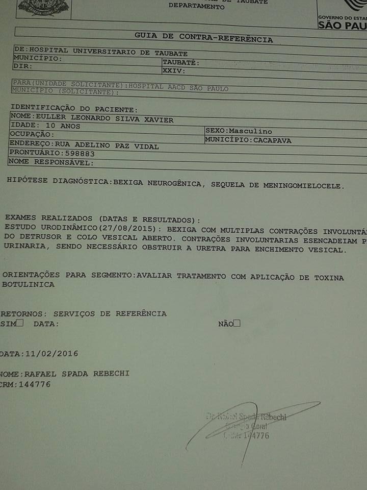 12924411_514932075361755_8881866692520825061_n Mãe Monteirense pede em rede social ajuda para o tratamento do filho