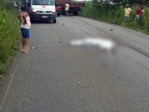 16263936280003622710000-300x225 Sargento reformado da PM morre após ser atingido por caminhão em rodovia da Paraíba