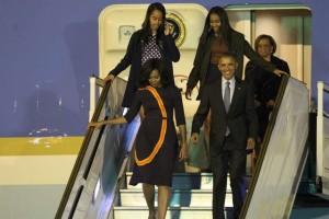 obaachegaargentinaefe-1-300x200 Obama chega a Buenos Aires acompanhado por 400 empresários
