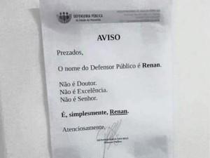 renan5-300x225 Defensor público do MA dispensa nomenclatura e ganha redes sociais