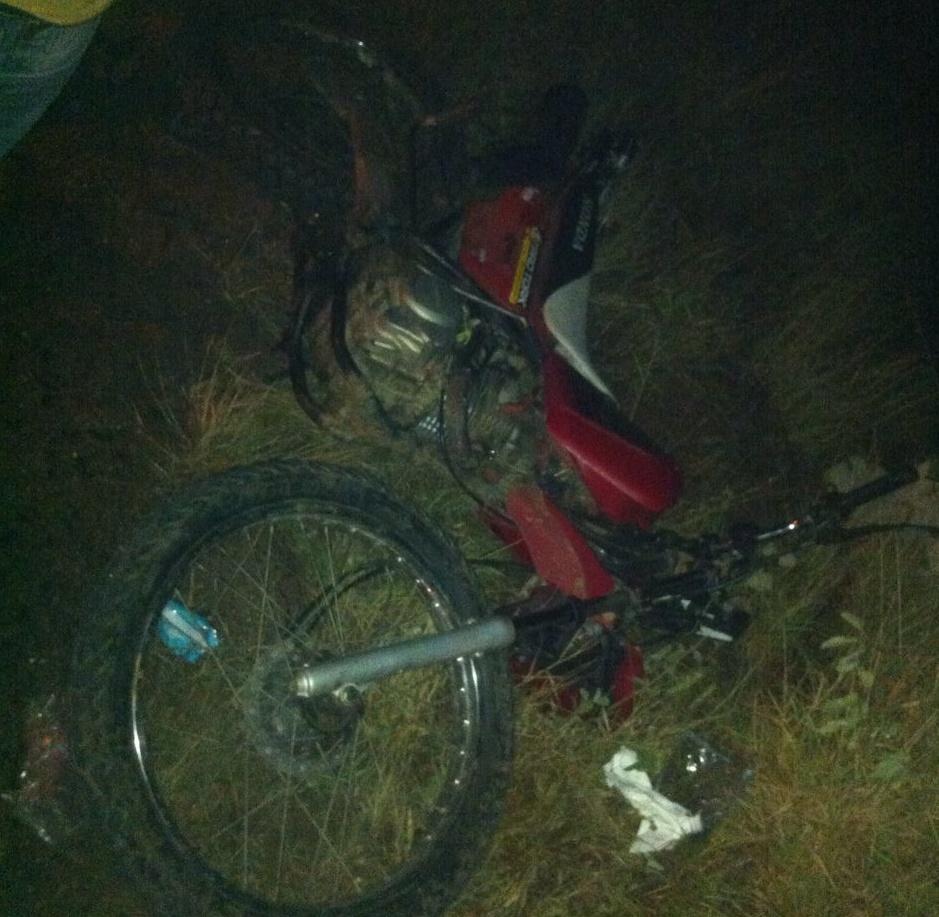 moto1 Acidente Deixa Vitima Fatal e Outra Gravemente Ferida em Monteiro.
