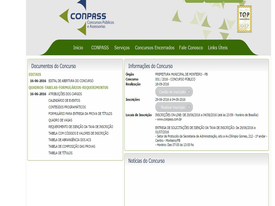 concurso-monteiro Exclusivo: Prefeitura de Monteiro vai realizar concurso, confira
