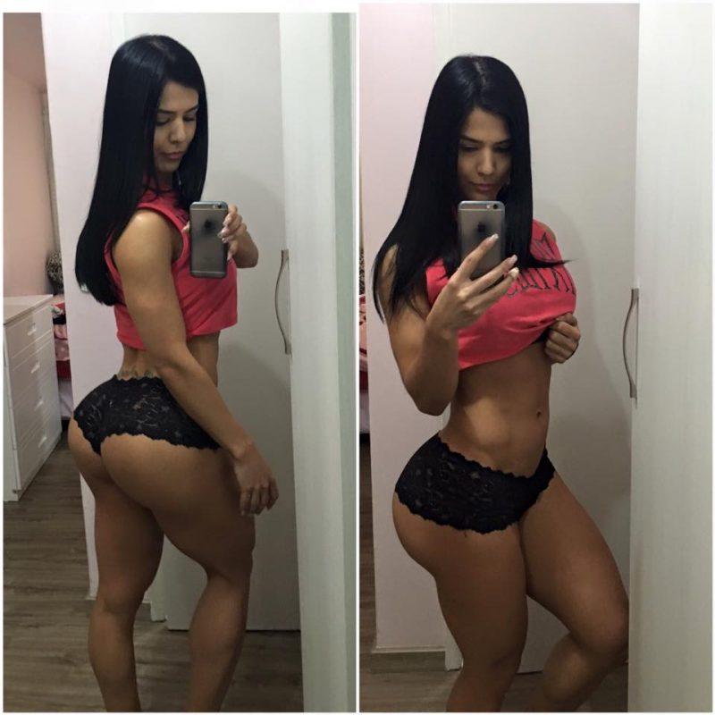 Eva-Andressa-800x800 De calcinha, Eva Andressa posa de frente e verso; foto bomba no Facebook
