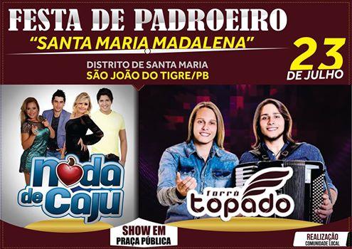 festa-1 É Hoje ! Festa de padroeiro no distrito de Santa Maria em São João do Tigre