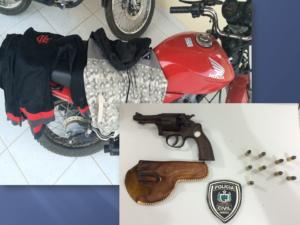 MOTO-PRESA-300x225 Moto roubada é recuperada pela polícia em Monteiro.