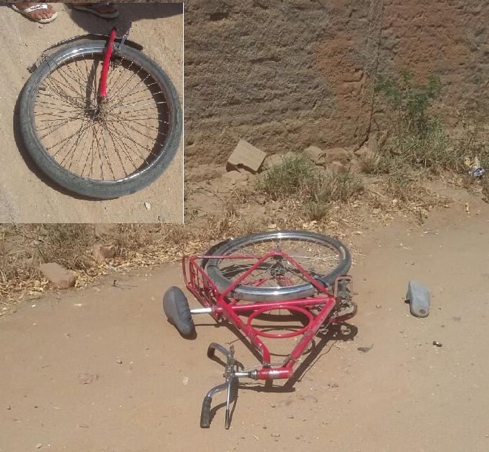 bicicleta Queda de bicicleta deixa homem gravemente  ferido em Monteiro