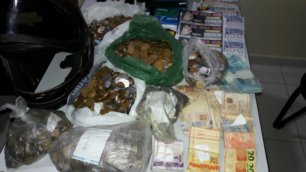 d5656b07-7e6e-4921-b2c9-7cc0edd3c799 Policia Militar recupera dinheiro roubado na casa lotérica de Prata