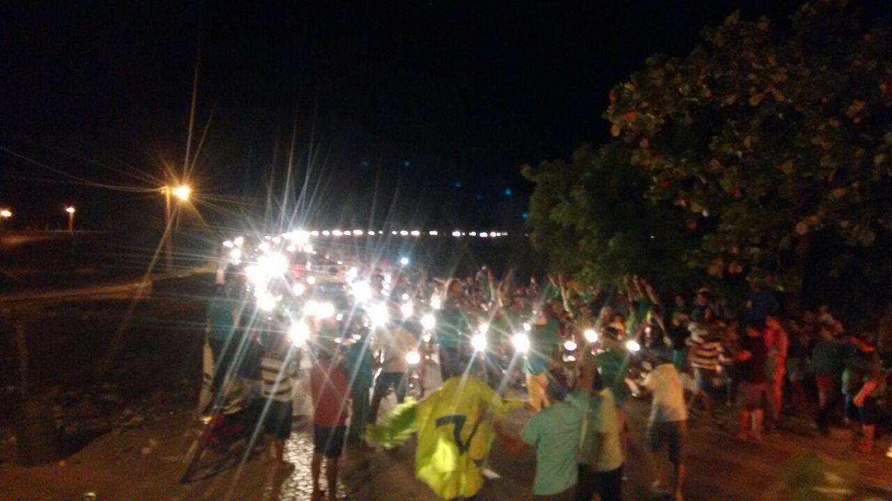 0962406c-8f4c-424d-a32a-e68322f7f8af Multidão prestigia comício de Felizardo Moura na Prata