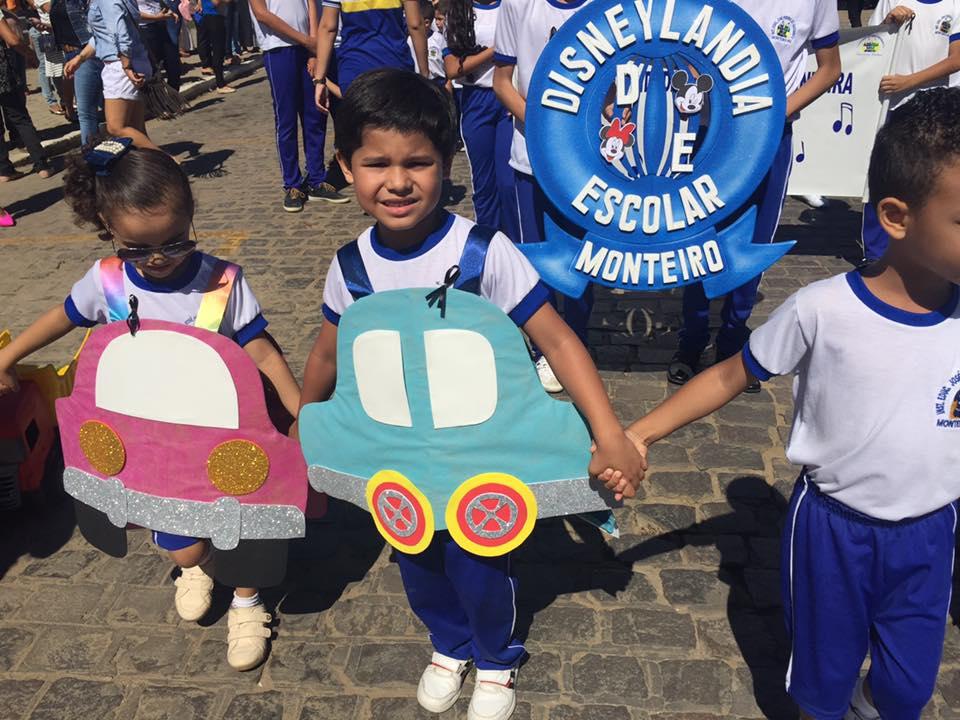 14225337_1148825088508263_6769375832301663402_n Desfile cívico de Monteiro marca comemoração ao dia 07 de setembro, veja as imagens