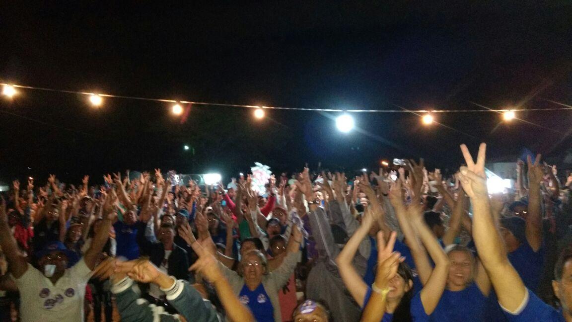 3580de38-a53f-497b-8bfc-0c6da1c3c6bd Multidão invade a zona rural de Livramento