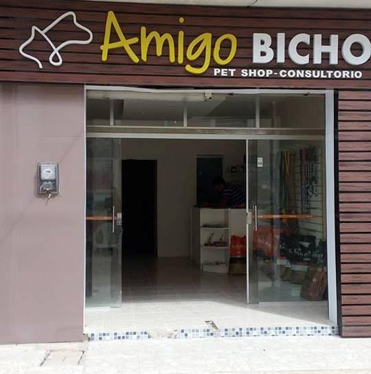 am-1 Em Monteiro Pet Shop e consultório Amigo Bicho