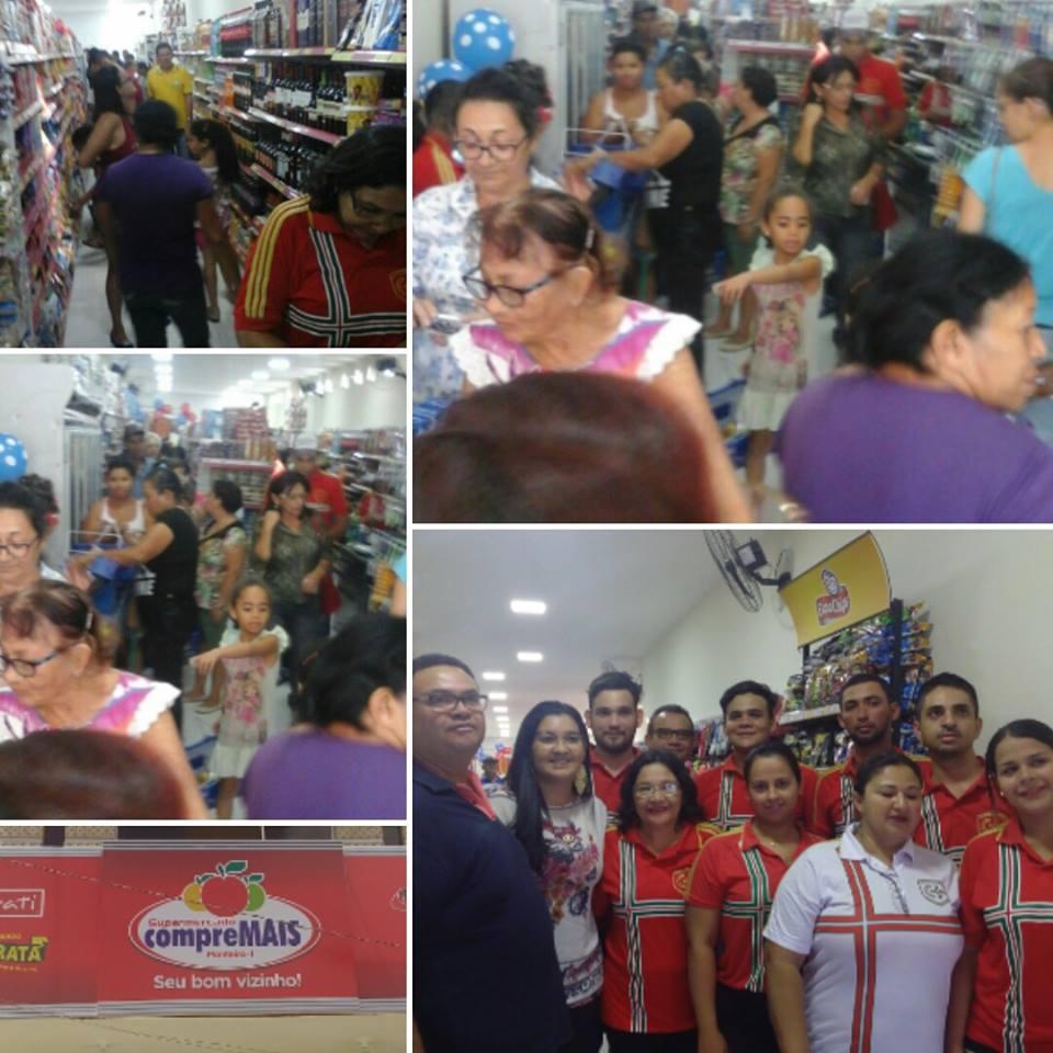14725684_990879284391597_2397116755695677123_n Supermercado Compre Mais é inaugurado em Monteiro