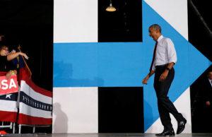 16311162-300x194 Na reta final, Obama se desdobra para atuar como cabo eleitoral de Hillary
