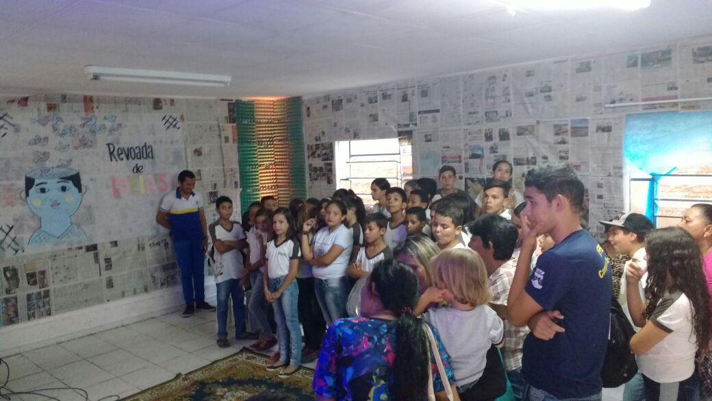 """27f1bf14-9e08-4e7c-a0f6-fdbcb426a17d Escola I.E.J.P.N Realiza Projeto """"""""Feira de Leitura e Escrita"""" em Monteiro"""