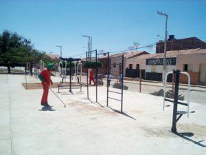 academia_saude_livramento-300x225 Academia da Saúde de Livramento entra na reta final de sua construção