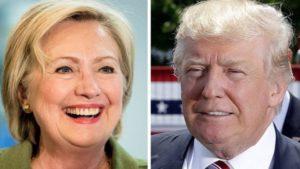 trump-hillary-300x169 Trump supera Hillary por um ponto em nova pesquisa