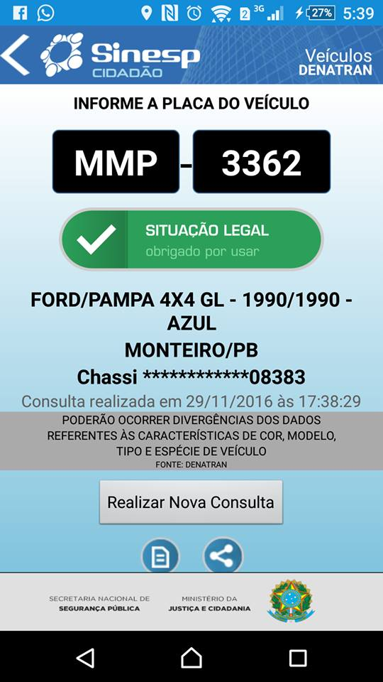 veiculo-roubado-em-Monteiro Homem tem carro furtado em frente aResidência em Monteiro