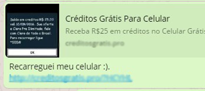 whatsapp-2-300x133 Golpe no WhatsApp engana usuários com promessa de créditos para celular
