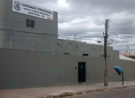 cadeia-publica-de-Monteiro Judiciário estadual e sistema prisional viabilizam mais segurança para a Cadeia Pública de Monteiro