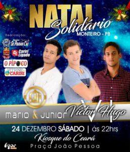 natal-em-monteiro-257x300 Dia 24 de Dezembro Mario & Junior e Victor Hugo no Natal Solidário na Praça João Pessoa.