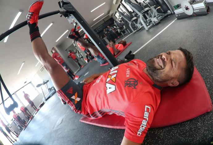 20012017200010 Preparador projeta evolução gradual e prevê Flamengo intenso na Liberta