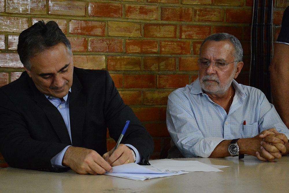 cartaxo_batinga Após se reunir com o Batinga, Luciano Cartaxo reduz tarifa aprovada por Conselho e fixa passagem de ônibus em R$ 3,20