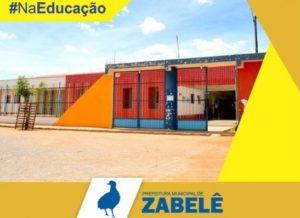 zabele-300x218 Prefeito de Zabelê assina ordem de serviço para melhorias em creche e Escola