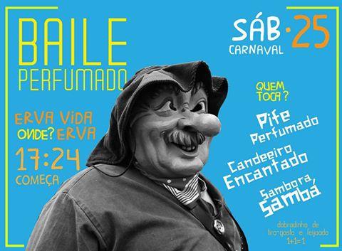 16806683_1870543173166784_6031761339785361076_n Hoje tem Carnaval: Baile Perfumado no Erva Vida