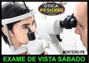 otica-nossa-senhora-das-dores-300x213 Haverá exame de vista neste sábado na Ótica Nossa Senhora Das Dores em Monteiro