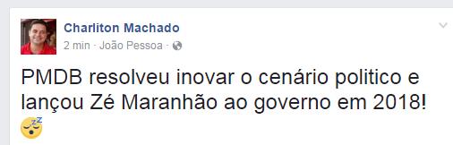 Print-Machado- Presidente do PT ironiza Maranhão para o governo