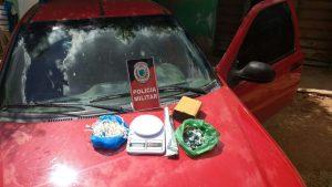 carro-roubado-300x169 Em Sumé: Polícia Militar recupera veículo roubadoe apreender Drogas