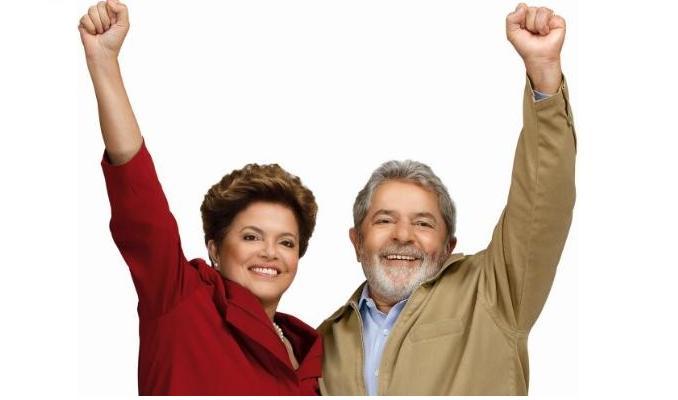 dilma-lula Lula e Dilma agendam visita ao canal da transposição, no Cariri