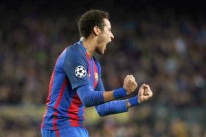neimar-300x199 Neymar brilha, Barcelona faz 6 e elimina PSG de forma histórica na Liga
