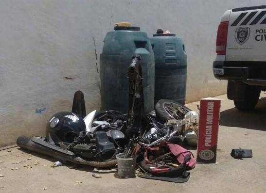 timthumb-4 Desmanche de motos é localizado na cidade de Monteiro