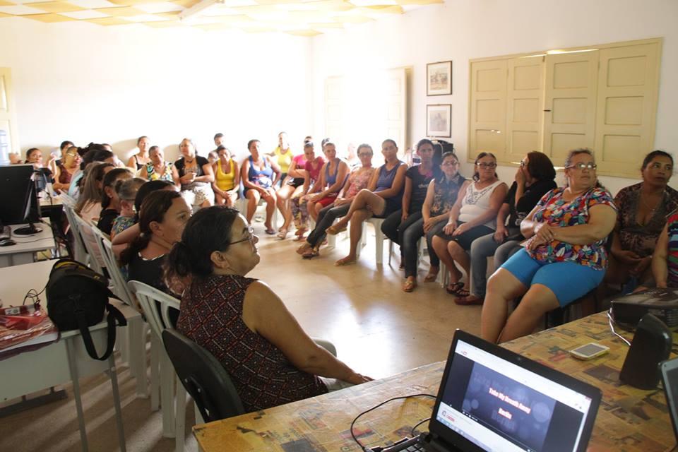 17760156_410120126034134_4363351276263441153_n-1 Secretaria de Cultura de Zabelê realiza reunião com rendeiras da Renda Renascença do município