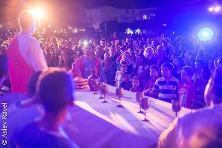 17884003_1518133168219408_7212147310085602857_n Imagens da primeira noite de apresentação do espetáculo da Paixão de Cristo 2017 em Monteiro