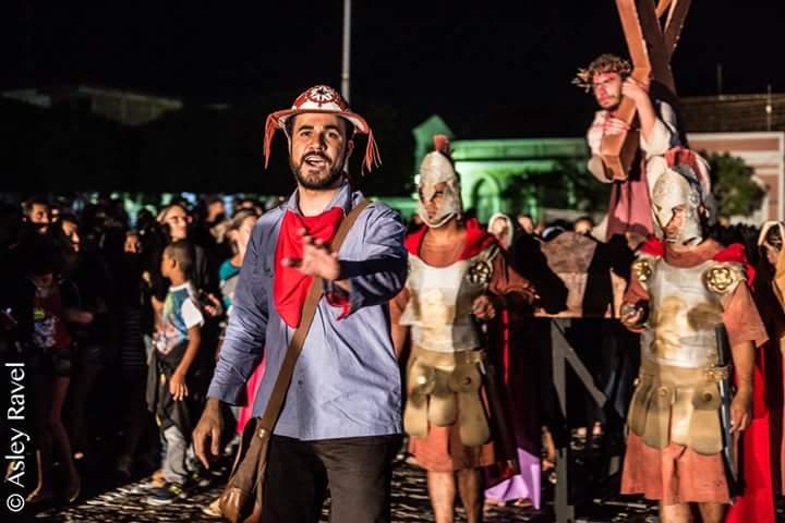 17903422_1518132128219512_6854021363525124381_n Imagens da primeira noite de apresentação do espetáculo da Paixão de Cristo 2017 em Monteiro