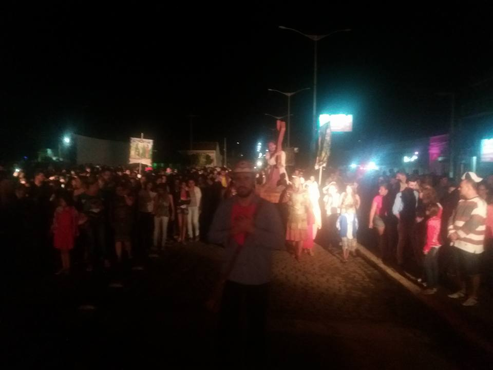 17904289_1518133228219402_1816053413324733083_n Imagens da primeira noite de apresentação do espetáculo da Paixão de Cristo 2017 em Monteiro