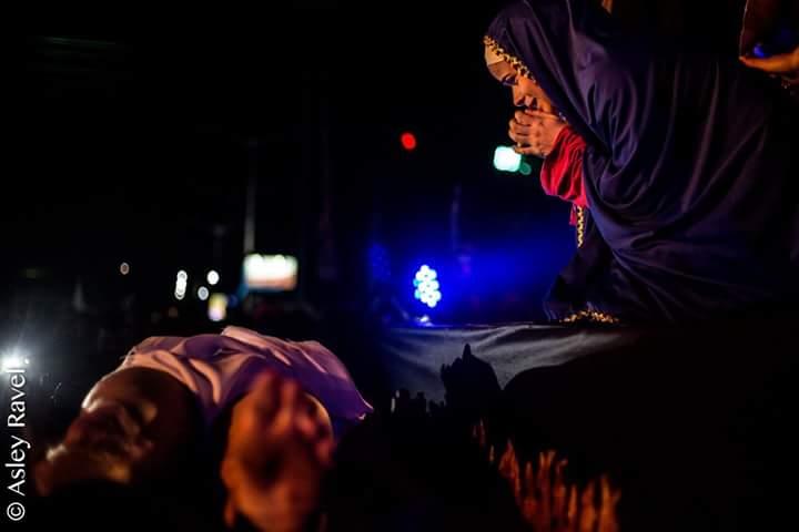 17904407_1518131954886196_8307325253523819539_n Imagens da primeira noite de apresentação do espetáculo da Paixão de Cristo 2017 em Monteiro