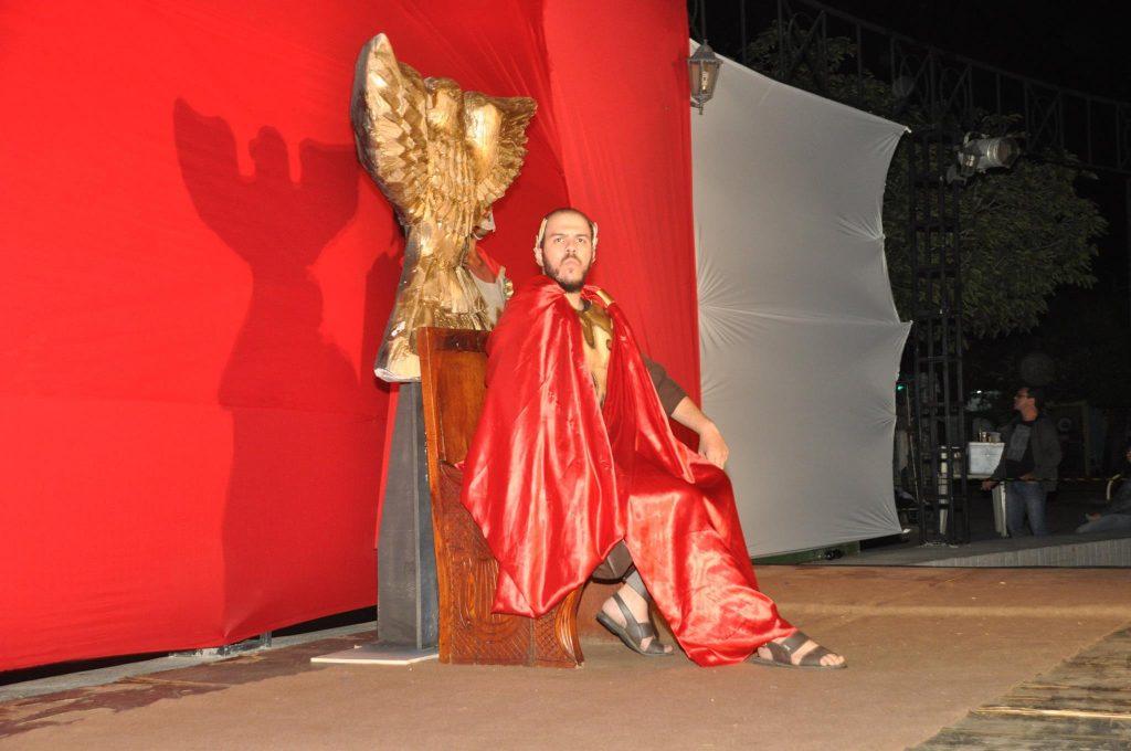 17917157_1863831603890030_5509837903677782973_o-1024x680 Mais Imagens da primeira noite de apresentação do espetáculo da Paixão de Cristo 2017 em Monteiro