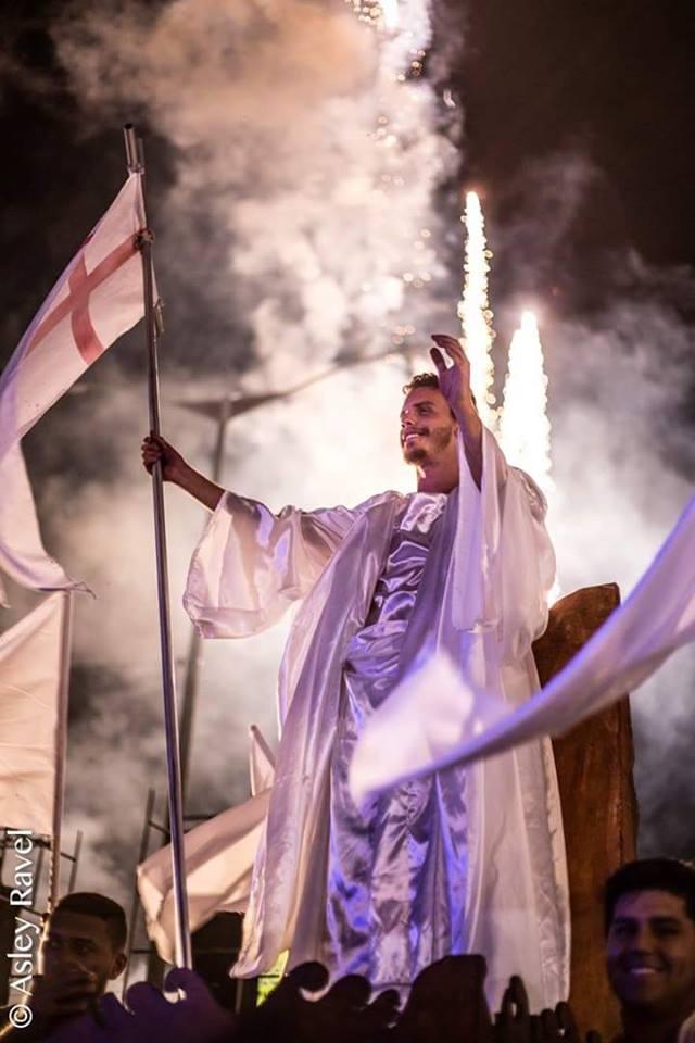 17951704_1518131818219543_7767296492408849803_n Imagens da primeira noite de apresentação do espetáculo da Paixão de Cristo 2017 em Monteiro