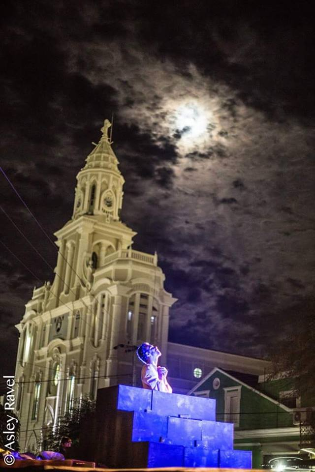 17951854_1518132978219427_3271323803190932379_n Imagens da primeira noite de apresentação do espetáculo da Paixão de Cristo 2017 em Monteiro