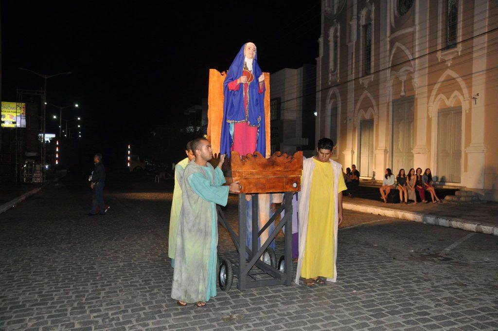 17966478_1863832207223303_1195054527246636751_o-1024x680 Mais Imagens da primeira noite de apresentação do espetáculo da Paixão de Cristo 2017 em Monteiro