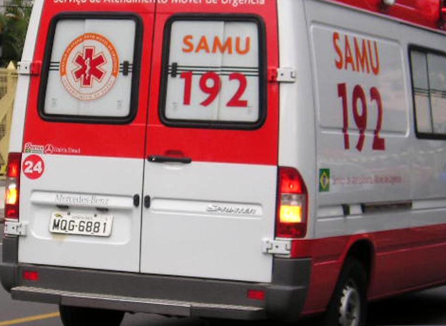 SAMU-1 Motos colidem em Monteiro e deixa duas pessoas feridas