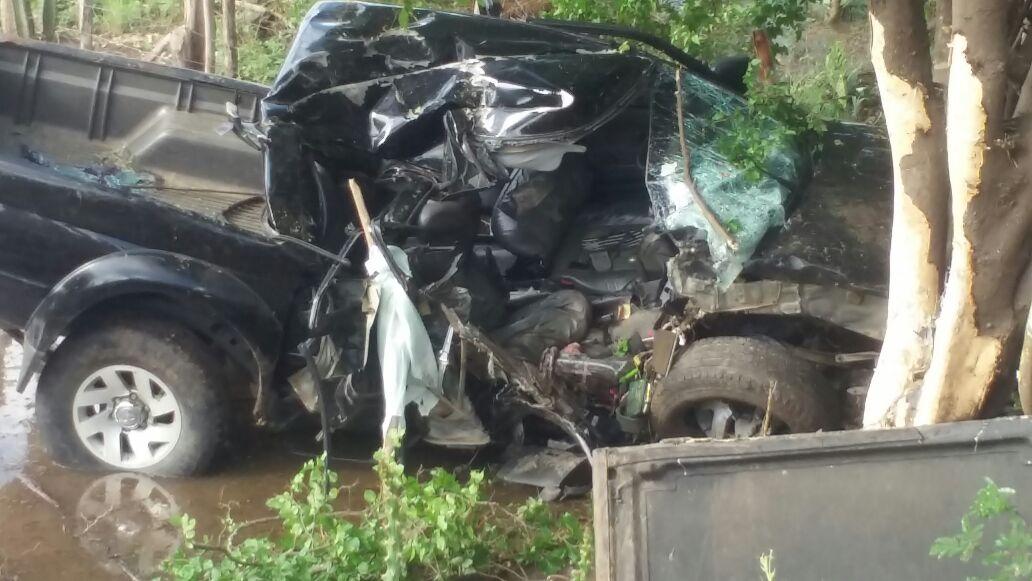 a1 Tragédia: Acidente mata um e deixa dois feridos na BR-412 em Monteiro