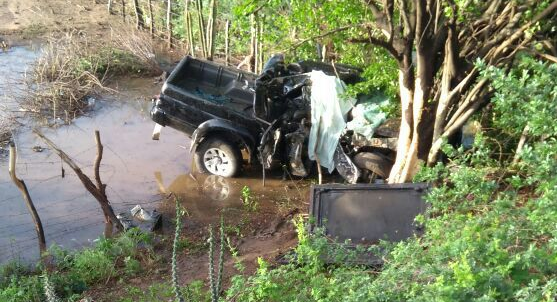 accidente Tragédia: Acidente mata um e deixa dois feridos na BR-412 em Monteiro