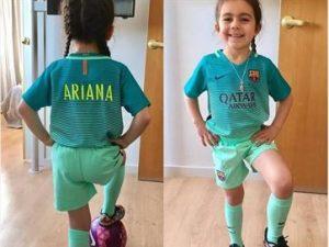 crianca-de-6-anos-destaque-na-internet-300x225 Menina de seis anos vira sensação na internet pelo talento com bola